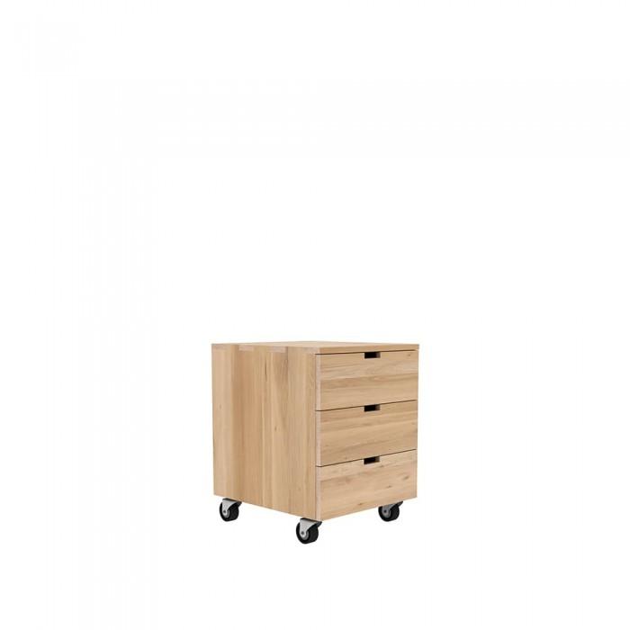 Ethnicraft Oak Billy Box drawer unit-50620