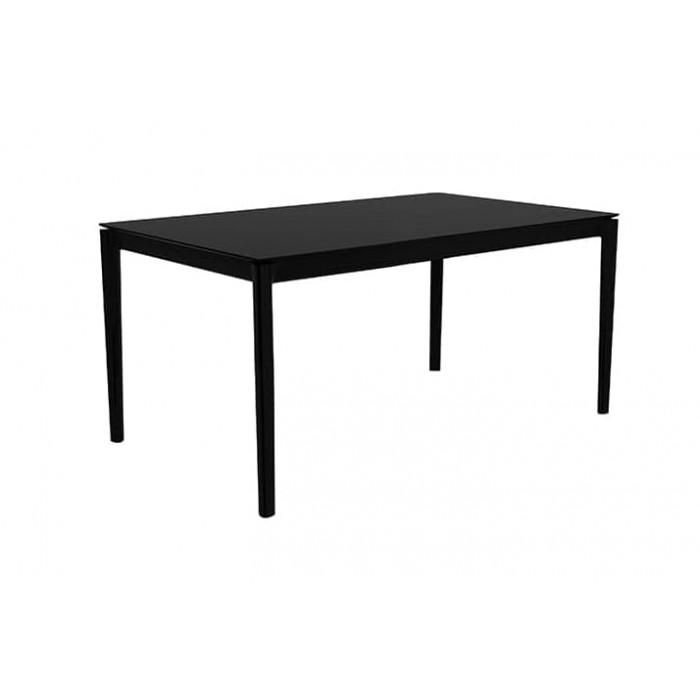 Oak Bok dining table – black
