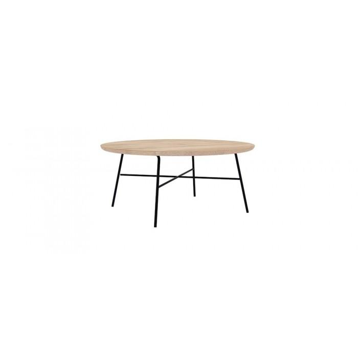 Ethnicraft Oak Disc coffee table round-26607