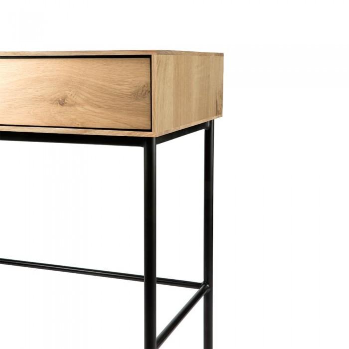 Ethnicraft Oak Whitebird desk, 2 drws 127/41/75-51461