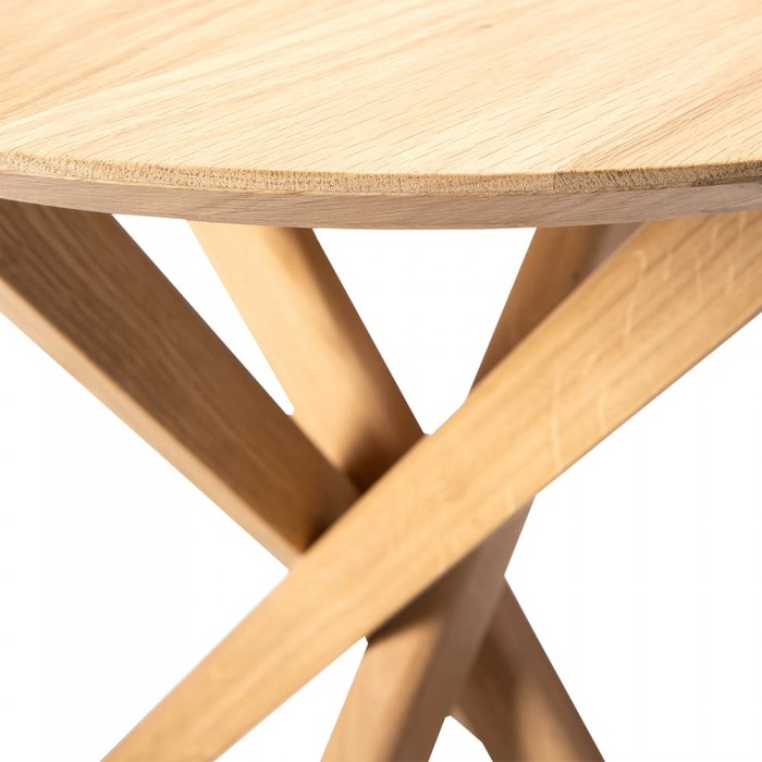 Ethnicraft  Oak Mikado side table-50541