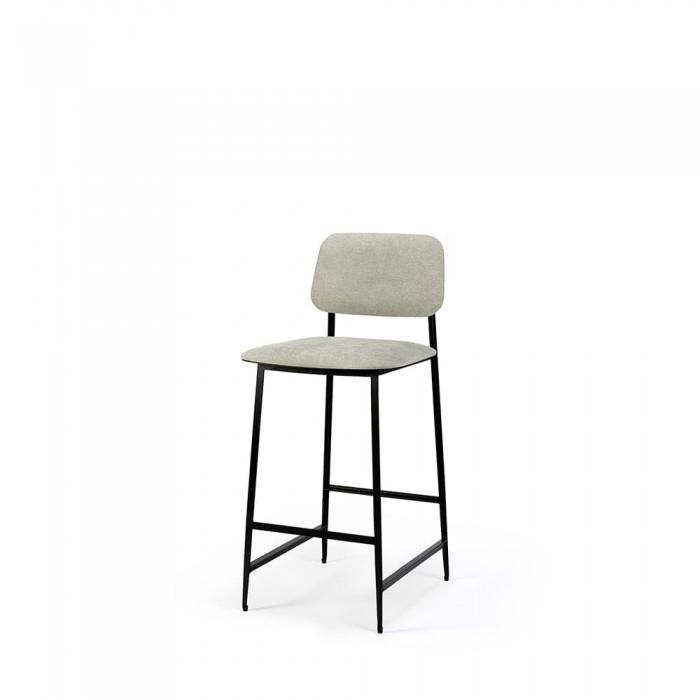 Ethnicraft DC counter stool – light grey-60081