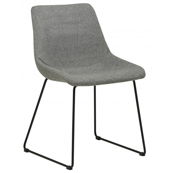CHAIRS  Arnold Dining Chair Gery / Black-Globe West