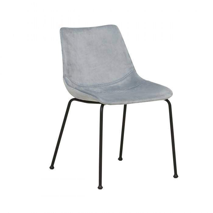 CHAIRS  Arnold Straight Leg Dining Chair Mineral Grey-CH-ARNOLD-STR-MIN