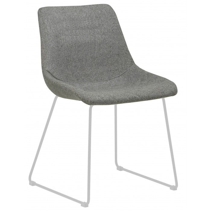 Chairs Arnold Dining Chair Grey White Ch Arnold Wh Gysp