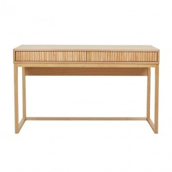 Benjamin Ripple Desk 1300mm  - Natural Ash - Globewest-GlobeWest