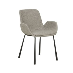 Annabel Arm Chair - Cloudy Grey  - Globewest