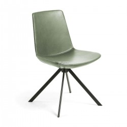 Zo- Dining Chair Green synthetic Leather
