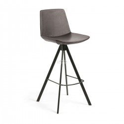 Zo- Barstool 65cm Brown synthetic Leather