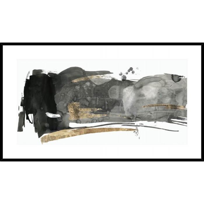 Black Gestures II 148x88cm