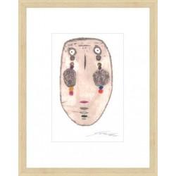 Face Of Lawan 53x45cm