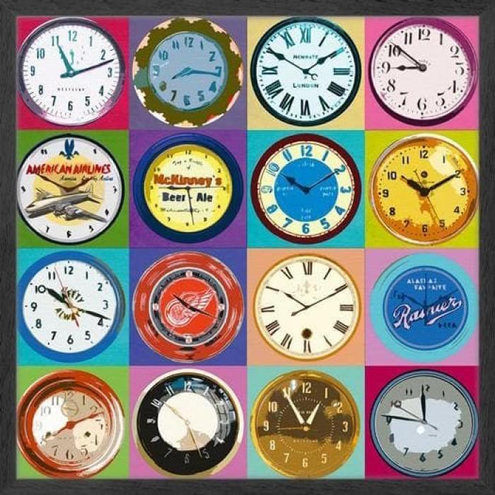 Clock Collection 96x96cm