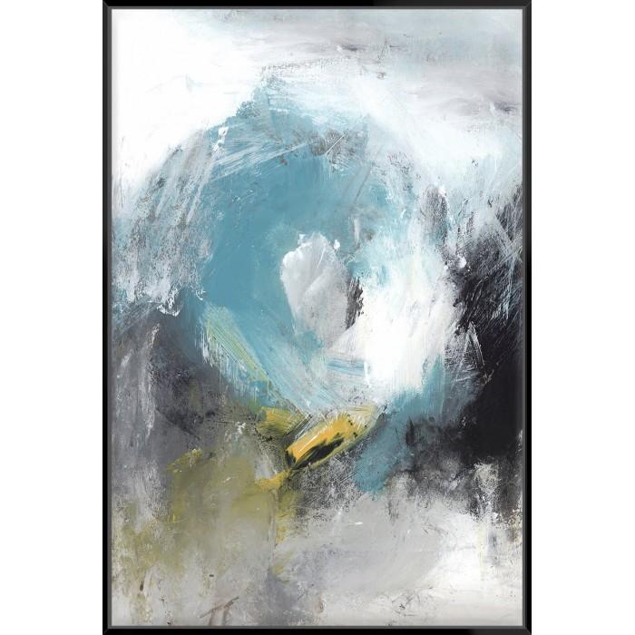 Aquamarine II - Canvas