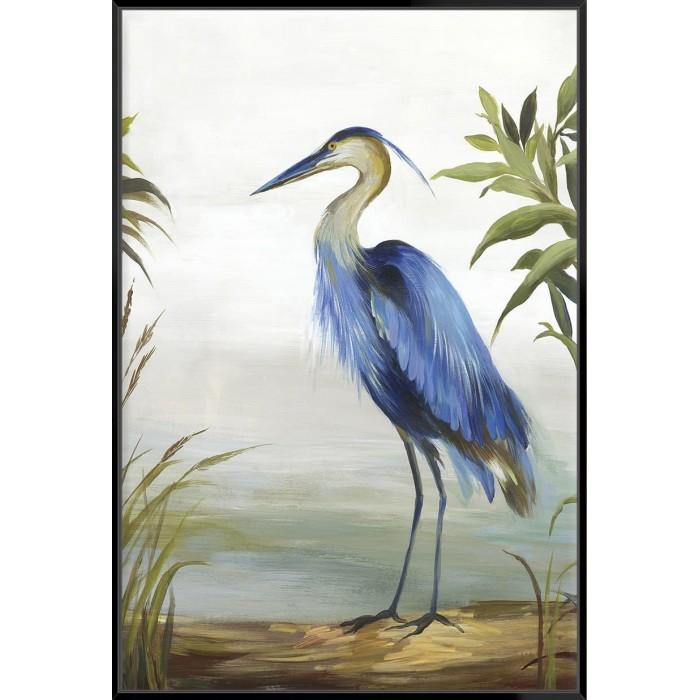 Blue Heron - Canvas