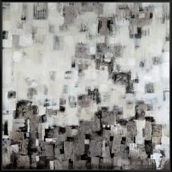 City Nights Silver - Canvas