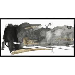 Black Gesture II - Canvas