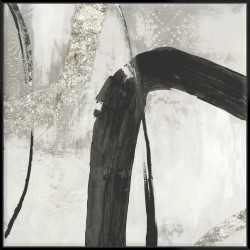 Black Ink II - Canvas