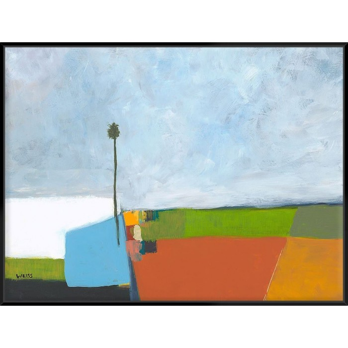 Under A Stormy Sky - Canvas