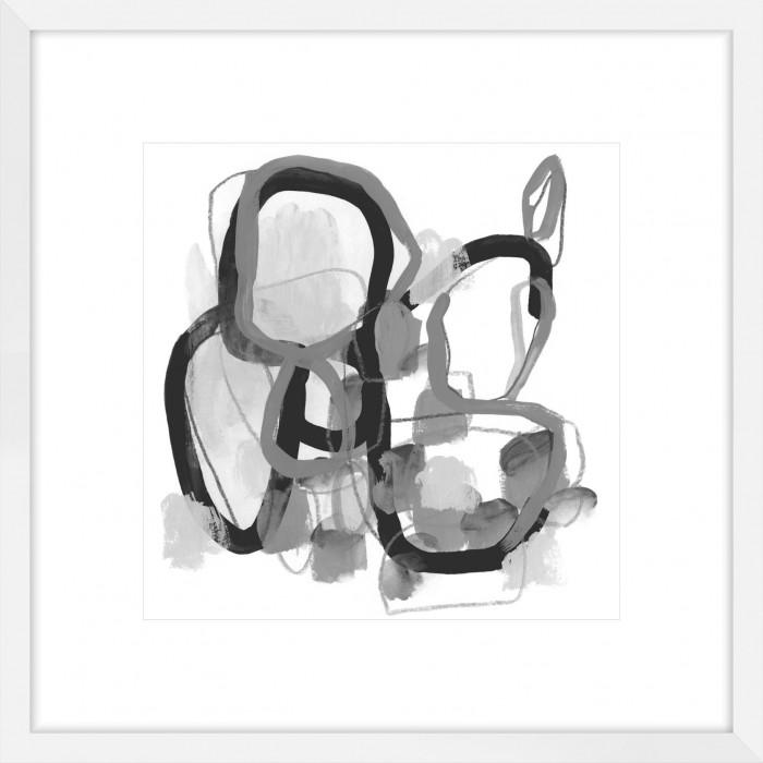 Black & Grey Pendulum I