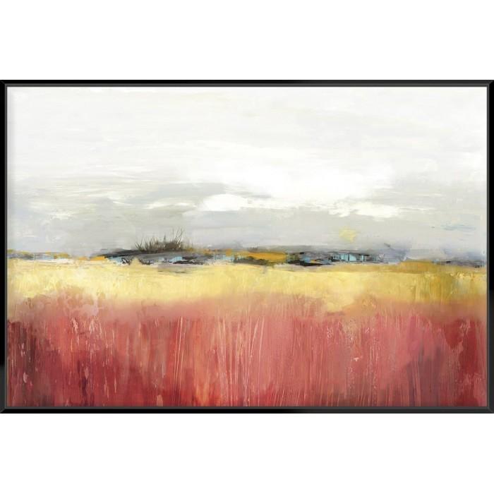 Yellow Landscape - Canvas