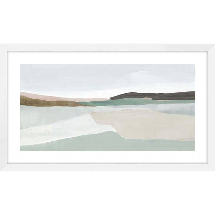 Sole Of The Land I 148x88cm / White, Smooth
