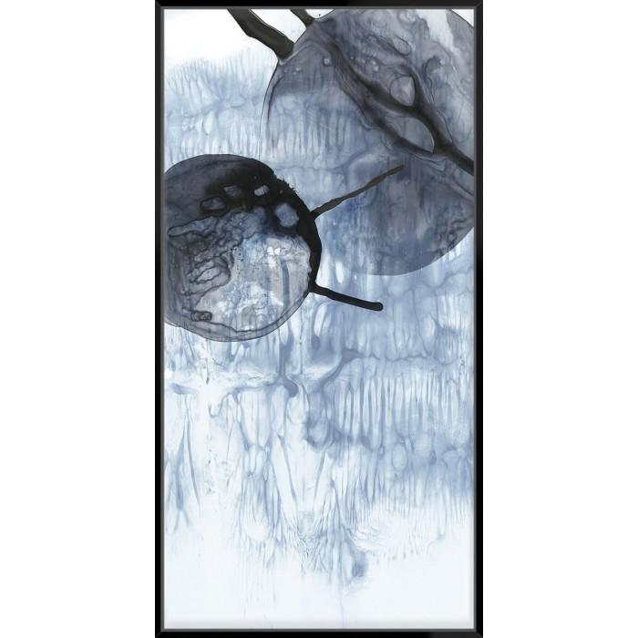 Dripping Circles II - Canvas