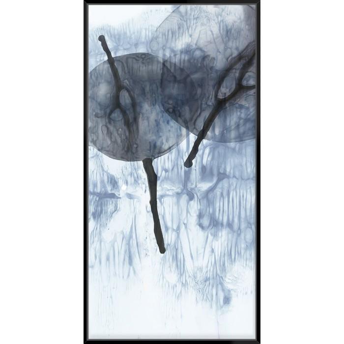 Dripping Circles I - Canvas