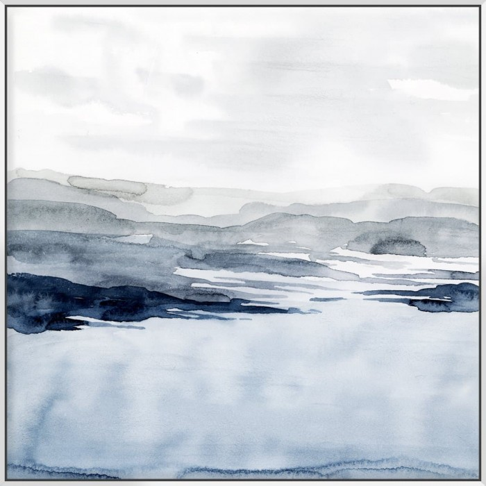 Faded Horizon I - Canvas