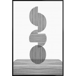 Gray On Gray III - Canvas