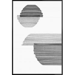 Gray On Gray I - Canvas
