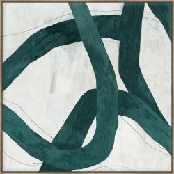 Green Bow I - Canvas