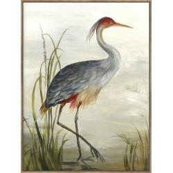 Grey Heron - Canvas