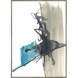 Kinetic Grid III - Canvas