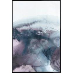 Lavender Bubbles I - Canvas