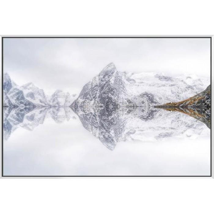 Lofoten Reflection  - Canvas