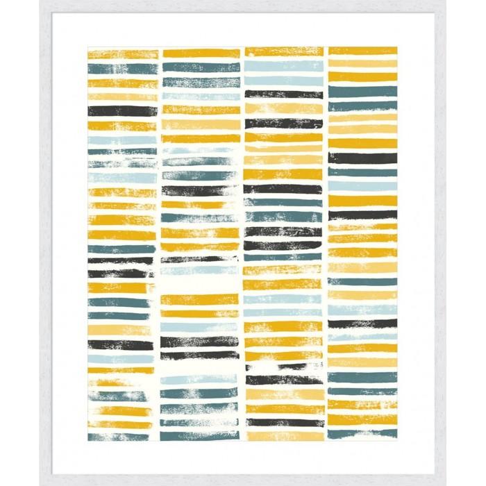 Saffron Block Print II
