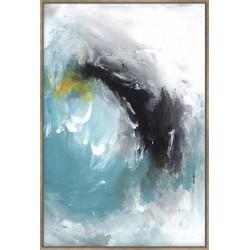 Aquamarine I - Canvas