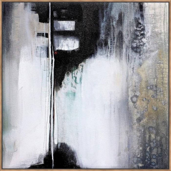 Black & White Drama - Canvas