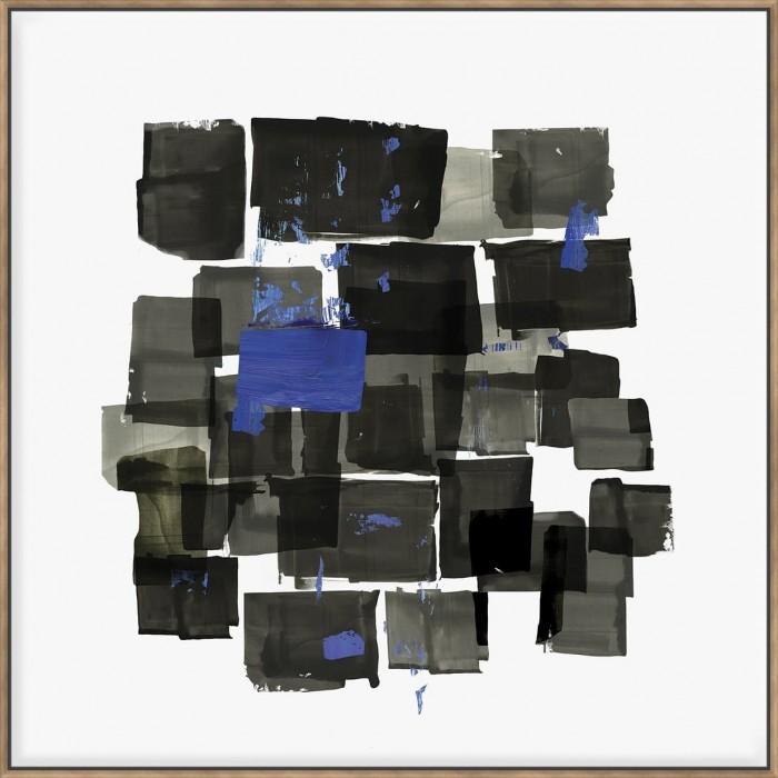 Black Tiles - Canvas