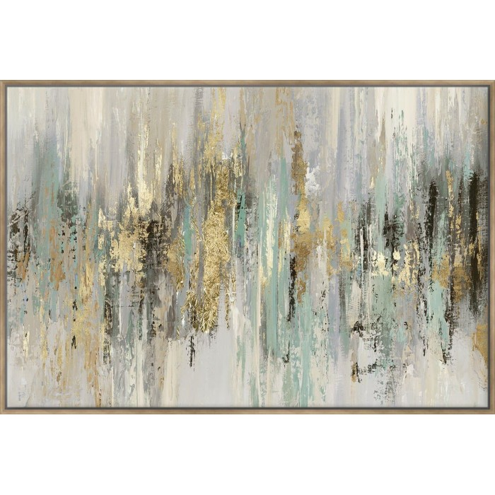 Dripping Gold I - Canvas