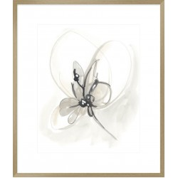Neutral Floral Gesture VI 74x64cm