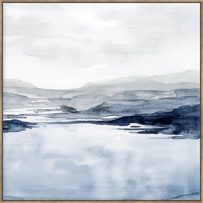 Faded Horizon II - Canvas