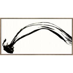 Silk Ink I On White - Canvas