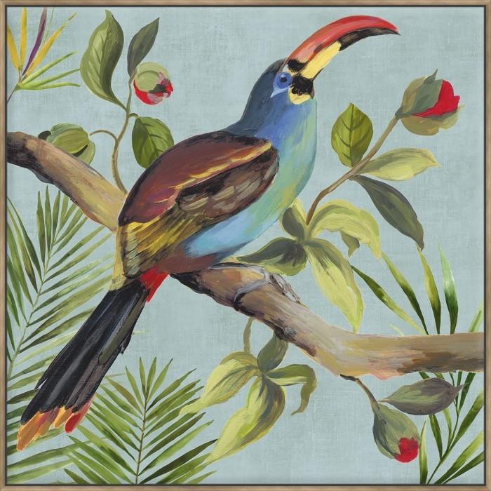 Paradise Toucan I - Canvas