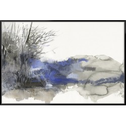 Poetic Blue - Canvas