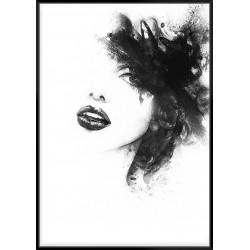 Shadow Grid - Canvas