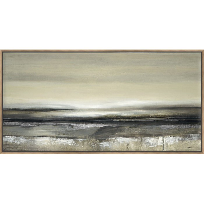 Silver Lights - Canvas