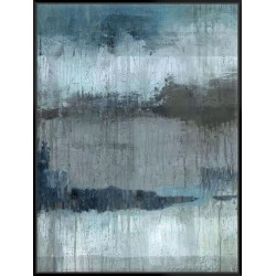Study In Light Blue - Canvas