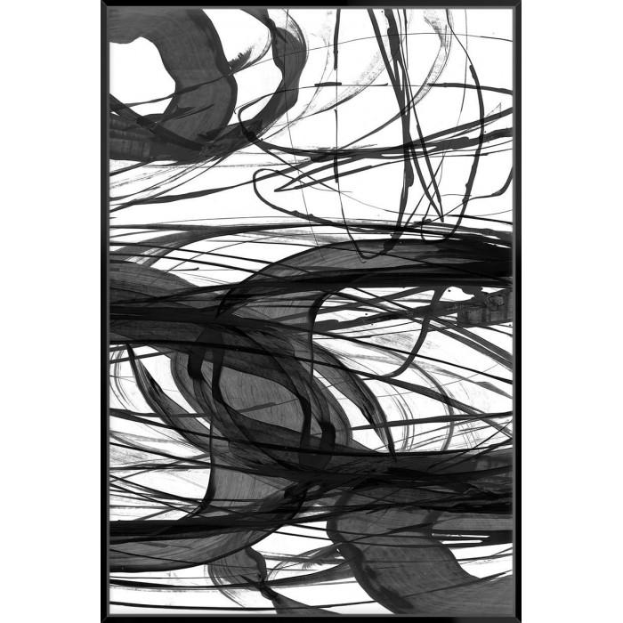 Swirling III - Canvas