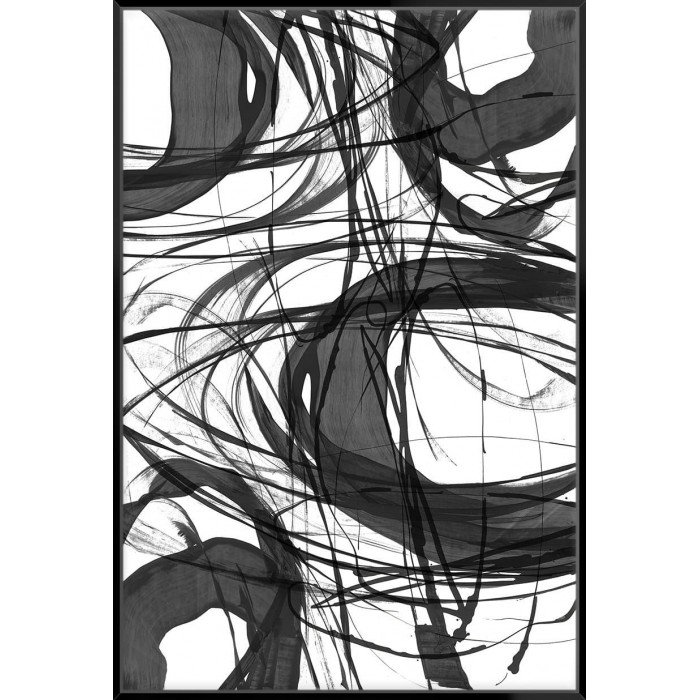 Swirling I - Canvas